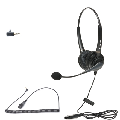 Dual-Ear headset for Allworx IP phone