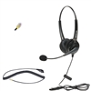 Dual-Ear Headset for Avaya Callmaster Telephone Console