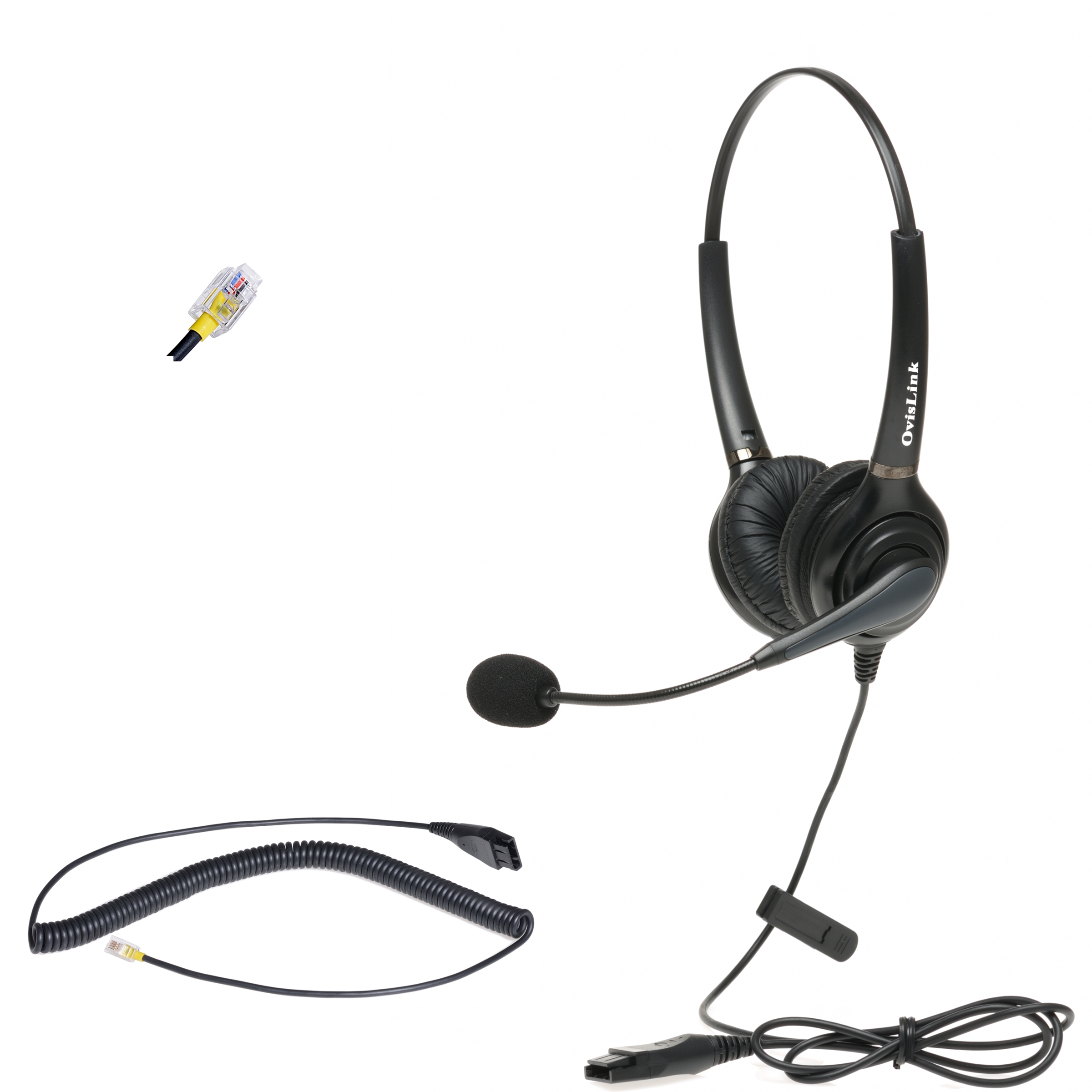 Cisco Unified IP Phone Headset, Dual Ear