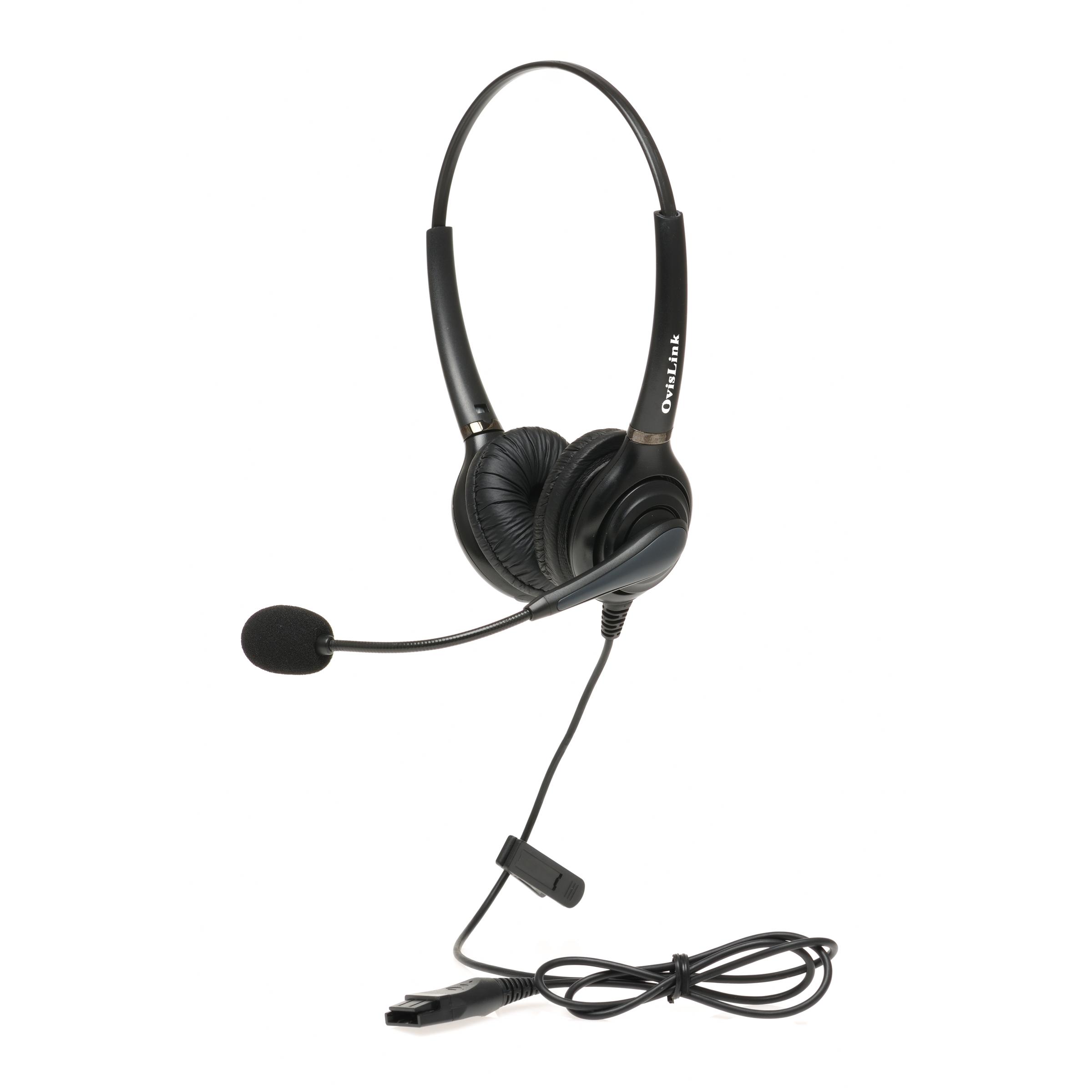 Cisco Unified IP Phone Headset, Dual Ear