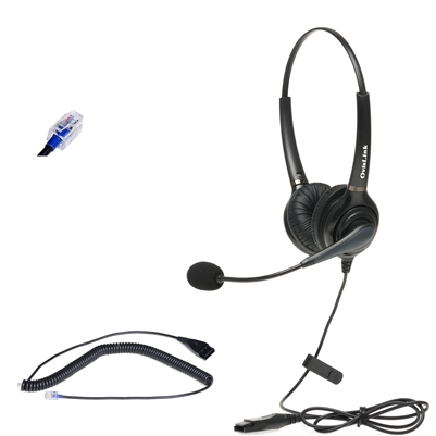 Mitel Business Phone Dual-Ear Headset