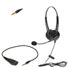Android Corded Dual-Ear Call Center Headset