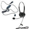 OvisLink USB call center headset with two earpieces
