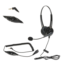 Panasonic Home Office Phone Dual-Ear Headset