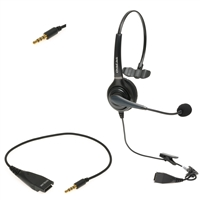 iPhones Mobile Call Center Single-Ear  Headset