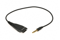 Short 3.5mm Quick Disconnect Cord for OvisLink Headsets