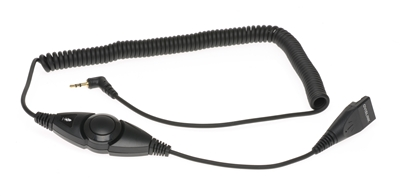 2.5mm Quick Disconnect Cord with Volume Control