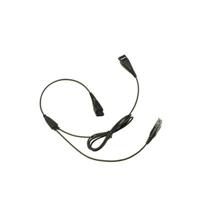 Y Splitter for Call Center Headset
