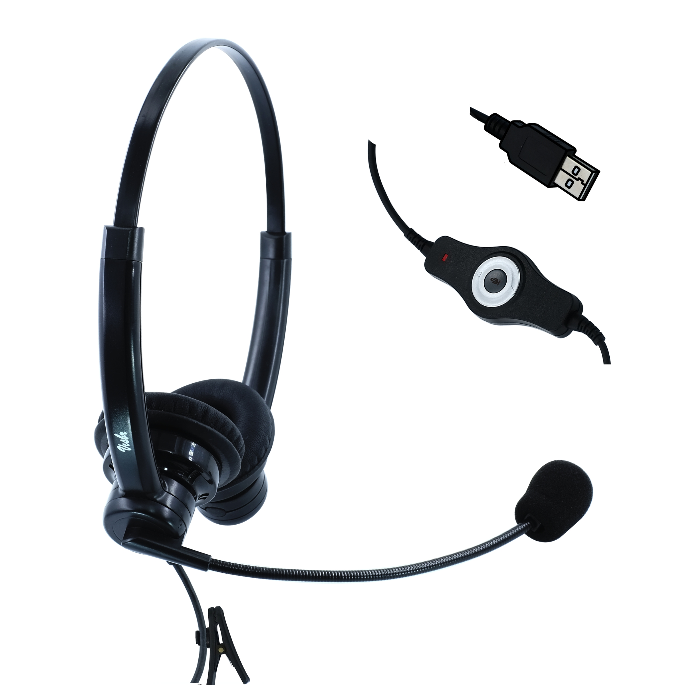 Visbr Usb Headset For Small Office And Work At Home