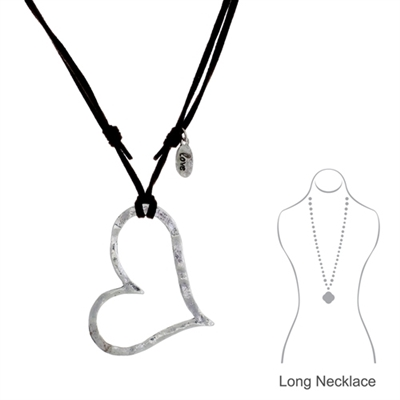 14454V-S as heart hammered long neck