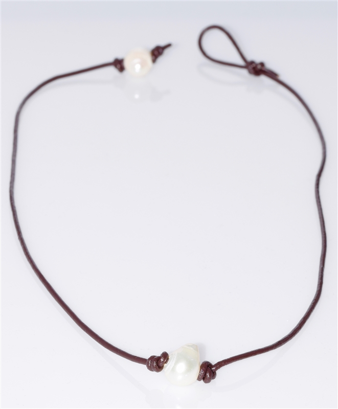14941BESTO-18 SINGLE PEARL NECKLACE