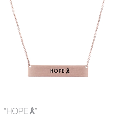 16766 ANTIQUE ''HOPE'' NECKLACE