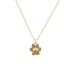 16837 PAW PRINT NECKLACE