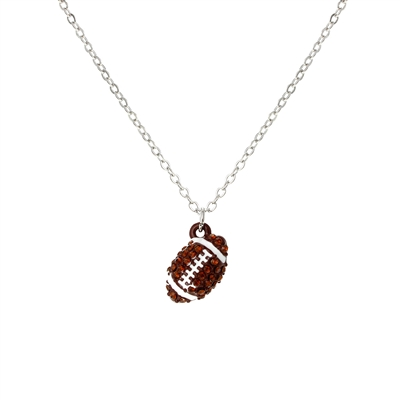 16922 FOOTBALL NECKLACE