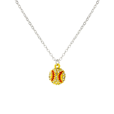 16925 BASEBALL NECKLACE