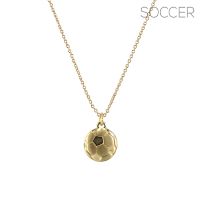 16969 SOCCER BALL CHAIN NECKLACE