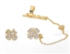 "23526 EARCUFF ""LUCK"" SET"
