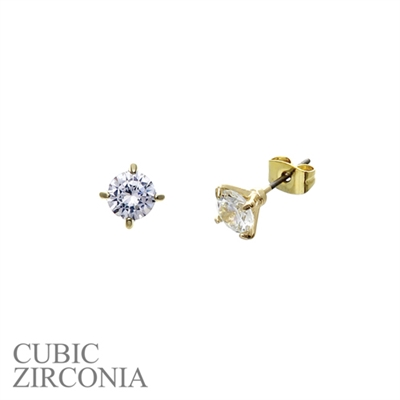 24777-6CR SMALL RHINESTONE STUDS