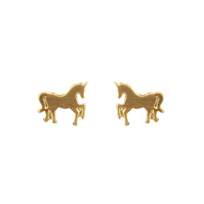 25740 UNICORN STUD EARRINGS