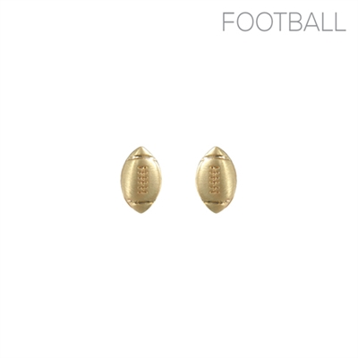 25943 FOOTBALL EARRINGS