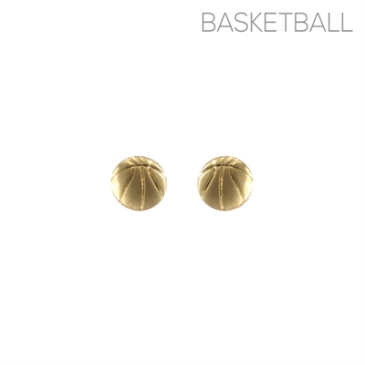 25944 BASKETBALL EARRINGS