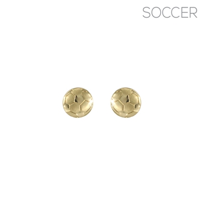 25946 SOCCER BALL EARRINGS