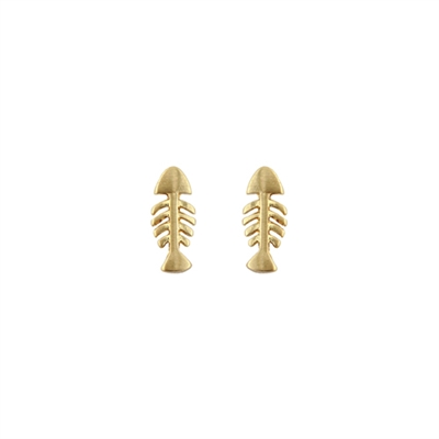25953 FISH BONE EARRINGS