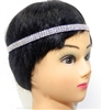 71123 THREE ROW RHINESTONE HEADBAND