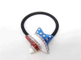71510 STAR PONYTAIL HOLDER