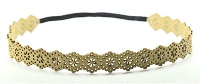 71597LCT Lace Suede Headband