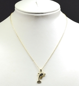 72583/N Dolphin Necklace
