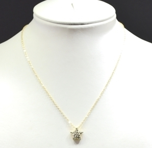 72587/N Star Rhinestone Necklace