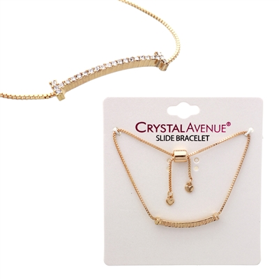 82921CR-G g line crystal adjustable bclt