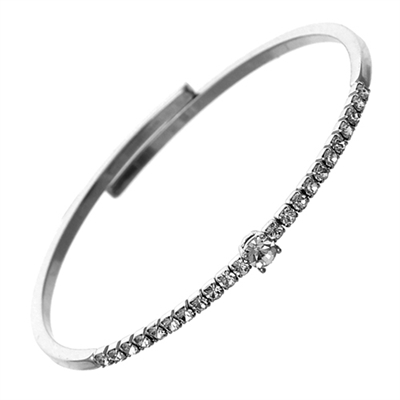 83006CR CRYSTAL BEADED BRACELET