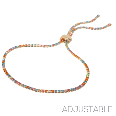 83131 MULTI-COLOR ADJUSTABLE BRACELET