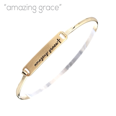 83406 AMAZING GRACE CLAMP BANGLE