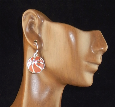 AE2710 BASKETBALL EARRINGS