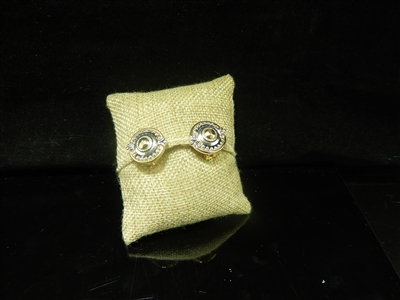 CIRCLE CLIP ON EARRINGS