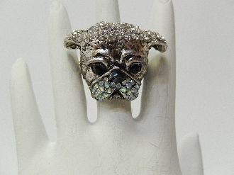 BDH547 BULLDOG HEAD STRETCH RING