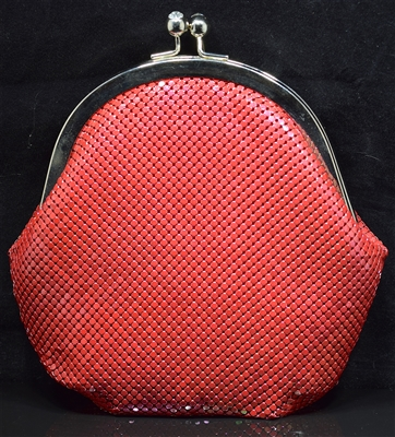 BG10 MESH METAL EVENING BAG