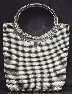 BG13 RHINESTONE EVENING BAG