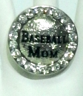 BASEBALL MOM RING