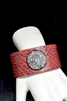 CB102 Snake Skin RED BANGLE