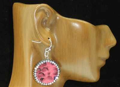 CD136 CLAY DRUZY EARRINGS
