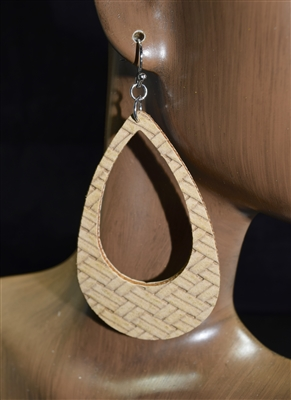 CE1747 OPEN TEARDROP EARRINGS
