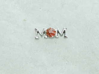 CH-101 BASKETBALL MOM CHARM