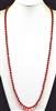 "CN368CRD 36"" 8MM RED CRYSTAL NECKLACE"