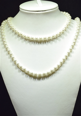 "CN368GPR 36"" 8MM PEARL NECKLACE"