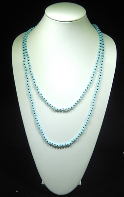 CN606GBB 60'' 6MM BABY BLUE CRYSTAL NECKLACE