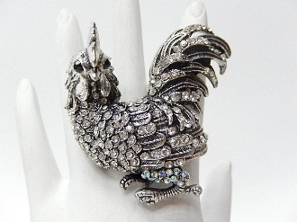 CR546 ROOSTER STRETCH RING